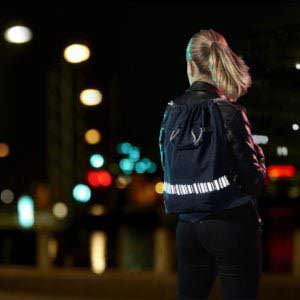 reflective backpack